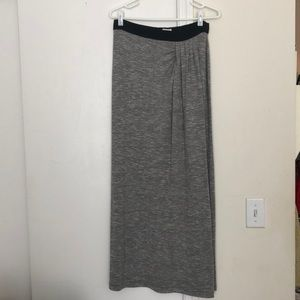 Lou and Grey faux wrap skirt